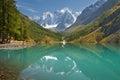 Altai mountains mountain lake russia siberia chuya ridge Royalty Free Stock Photo
