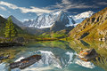 Altai mountains mountain lake russia siberia chuya ridge Royalty Free Stock Photography