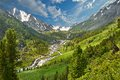 Altai mountains mountain lake russia siberia katun ridge Stock Photo