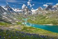Altai mountains mountain lake russia siberia katun ridge Stock Images