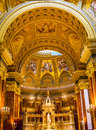 Altar Basilica Arch Saint Stephens Cathedral Budapest Hungary Royalty Free Stock Photo
