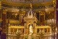 Altar Basilica Saint Stephens Cathedral Budapest Hungary Royalty Free Stock Photo