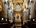 Altar at Christ Church Oxford Stock Images
