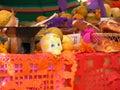 Altar dia de muertos mexican tradition Stock Photos