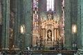 Altar of Duomo Di Milano Stock Photography
