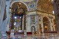 Altar san pietro Royalty Free Stock Photo