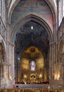 Altar of strasbourg cathedral france Stock Photo
