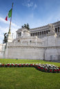 Altare della patria the beautiful monument called in rome Stock Images