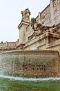 Altare della Patria fountain Rome Italy Royalty Free Stock Photo