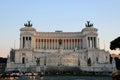 Altare della Patria or Monumento Nazionale a Vittorio Emanuele II, Rome, Italy Royalty Free Stock Photo