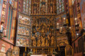 Altarpiece Veit Stoss (St. Marys Altar) - Cracow (Krakow)-Poland Royalty Free Stock Photo