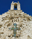 Alte griechische orthodoxe Kirche Stockbilder