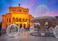 Alte oper in frankfurt germany Stock Images