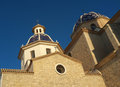 Altea church Stock Photography