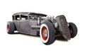 Alter rusty rat rod Lizenzfreie Stockbilder