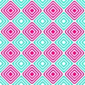 Alternating blue pink squares seamless pattern Royalty Free Stock Photo