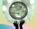 Alternative medicine crystal ball