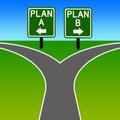 Alternative plan