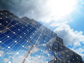 Alternative solar energy Royalty Free Stock Photo