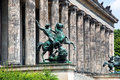 Altes museum berlin germany monument close up Stock Photography