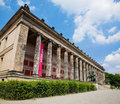 Altes museum berlin germany sunny blue sky Royalty Free Stock Photos