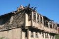 Altes ruinenhaus Stockbilder