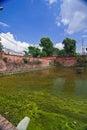 Altes Wasser-Becken Stockfotografie