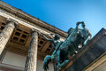 Altesmuseum museum of antiquities built in year in berlin germany Royalty Free Stock Images