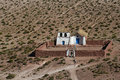 Altiplano church at Machuca Stock Image