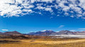 Altiplano Lagoon Salar de Talar in Chile by San Pedro de Atacama Royalty Free Stock Photo