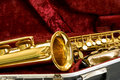 Alto sax Stock Photography