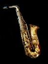 Alto saxophone Royalty Free Stock Photo