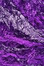 Aluminium foil texture background purple color textured aluminum Stock Photo