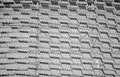 Aluminium grid modern decorative made from rectangles Stock Image