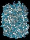 Aluminium-plastics scrap Stock Image
