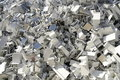 Aluminium scrap Royalty Free Stock Photo