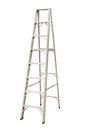 Aluminium stepladder Royalty Free Stock Photography