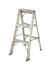 Aluminium stepladder Stock Photography