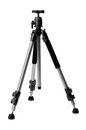 Aluminium tripod with ball head Royalty Free Stock Photo
