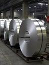 Aluminum coils Royalty Free Stock Photography