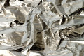 Aluminum foil Royalty Free Stock Photo