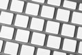 Aluminum keyboard Royalty Free Stock Photo