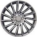 Aluminum Racing Wheel Royalty Free Stock Photo