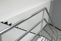 Aluminum railing Royalty Free Stock Photo