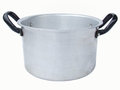 Aluminum saucepan Royalty Free Stock Photo