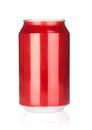 Aluminum soda can Royalty Free Stock Photo