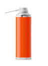 Aluminum spray can you use it as painting or insecticide with clipping work path Stock Photography