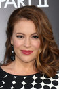 Alyssa Milano Stock Photo