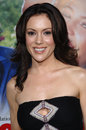 Alyssa milano actress at the los angeles premiere of monster in law april los angeles ca paul smith featureflash Stock Photo
