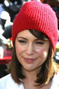 Alyssa milano at the christmas eve for homeless served at los angeles mission los angeles ca Royalty Free Stock Photography